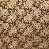 Rose Blossom Chantilly Lace - Gold/White