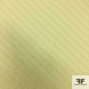 Geometric Square Texture Brocade- Keylime Green
