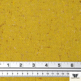 Yellow Wool Suiting fabric