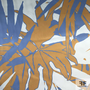Palm Tree Neoprene - Orange/Blue/White