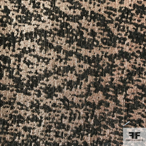 Metallic Brocade - Copper/Brown