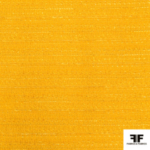 Cotton Blend Suiting - Yellow - Fabrics & Fabrics NY