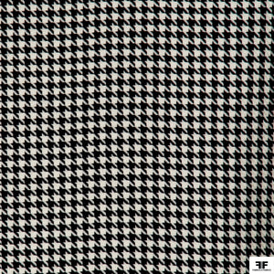 Wool Houndstooth - Black/White