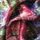 Floral Metallic Brocade - Multicolor