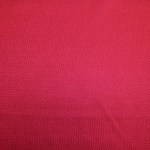 Silk Jacquard - Crimson Red