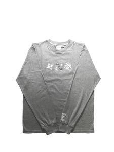 MARBLE SERIES: AFYON GREY LONG SLEEVE