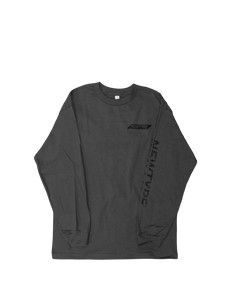 BASIC LONG SLEEVE ASH GREY