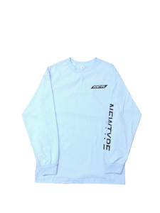 BASIC LONG SLEEVE POWDER BLUE