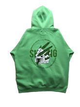 COLLAB: SHINING EVOLVE GREEN HOODIE