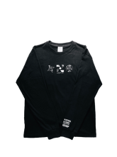 MARBLE SERIES: NERO OCEANO BLACK LONG SLEEVE