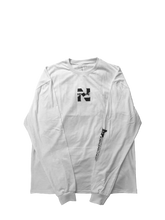 REVISED LONG SLEEVE NEGATIVE WHITE