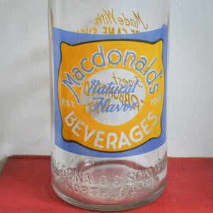 Macdonald & Sons Soda Bottle