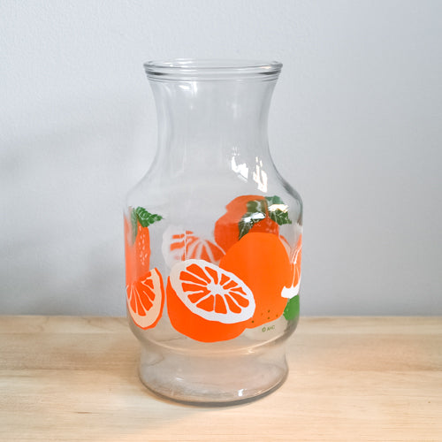 Anchor Hocking Orange Juice Carafe