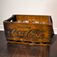 Refinished Coca-Cola Crate