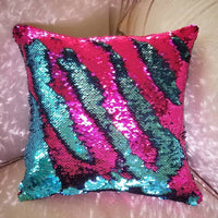 mermaid pillows pillowcases mermaids sequin pillow throw pillow reversible write on pillows two toned
