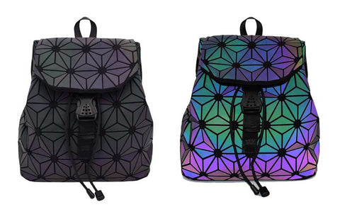 Luminesk Star Flower Backpack Holographic