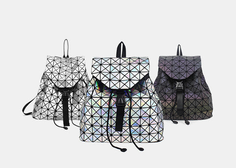 Luminesk Starlight Holographic Backpack