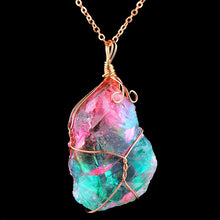 Rainbow Unicorn Crystal Necklace on SALE - Succulent Treasure