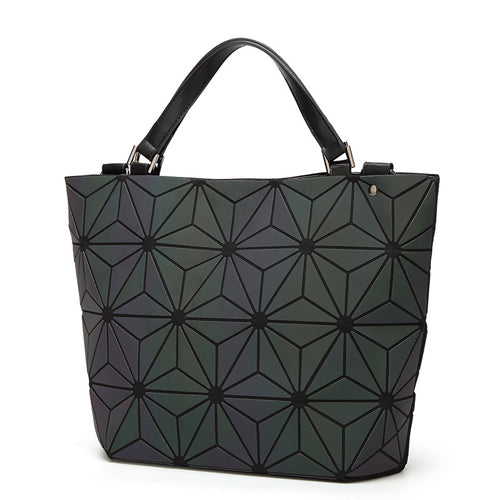 Luminesk Star Flower Messenger Handbag Purse - Succulent Treasure