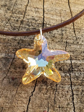 Starfish Crystal Pendant Necklace - Succulent Treasure