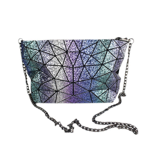 Luminesk Shiny Starlight Chain Purse - Succulent Treasure