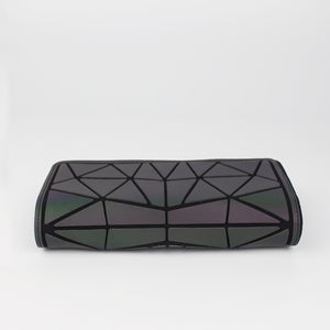 Luminesk Starlight Holographic Three Fold Clutch Wallet - Succulent Treasure