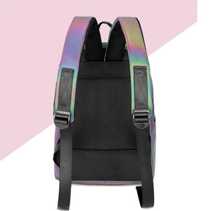 Luminesk Backpack Holographic Reflective Bag - Succulent Treasure