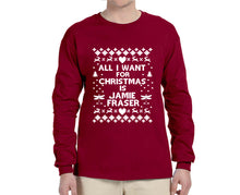 All I Want for Christmas is Jamie Fraser Ugly Christmas Sweater Longsleeve - Succulent Treasure