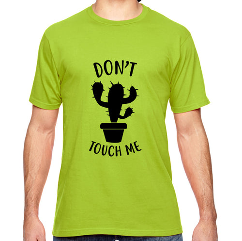 Don't Touch Me Cactus Adult Unisex Shirt - Succulent Treasure