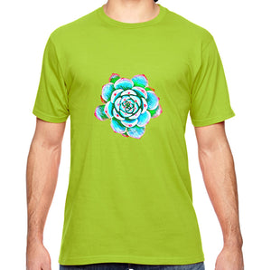 Echeveria Graphic Adult Unisex Shirt - Succulent Treasure