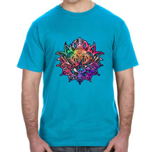 Ganesha Lotus Graphic Adult Unisex Shirt - Succulent Treasure