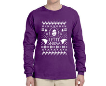 Let it Snow Ugly Christmas Sweater Longsleeve - Succulent Treasure