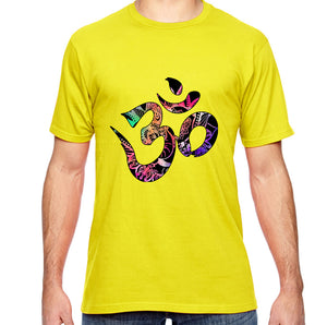 Om Watercolor Graphic Adult Unisex Shirt - Succulent Treasure