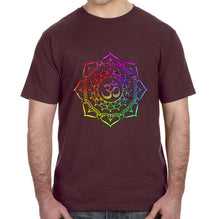 Om Mandala Graphic Adult Unisex Shirt - Succulent Treasure
