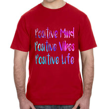 Positive Mind Positive Vibes Positive Life Adult Unisex Shirt - Succulent Treasure