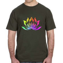 Lotus Watercolor Graphic Adult Unisex Shirt - Succulent Treasure