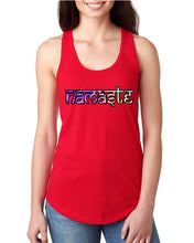 Namaste Watercolor Racerback Tank - Succulent Treasure