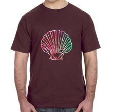 Watercolor Seashell Graphic Adult Unisex Shirt - Succulent Treasure