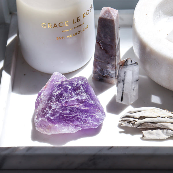 AMETHYST ROUGH ROK
