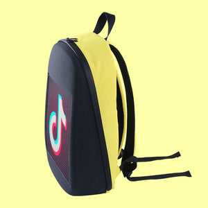 LED Screen Advertising Backpack Wireless Wifi APP Control