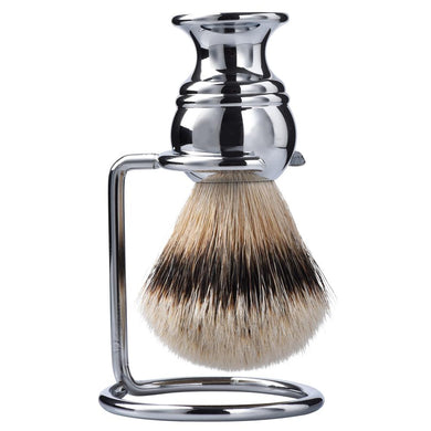Handmade High Mountain White Silvertip Badger Shaving Brush for men