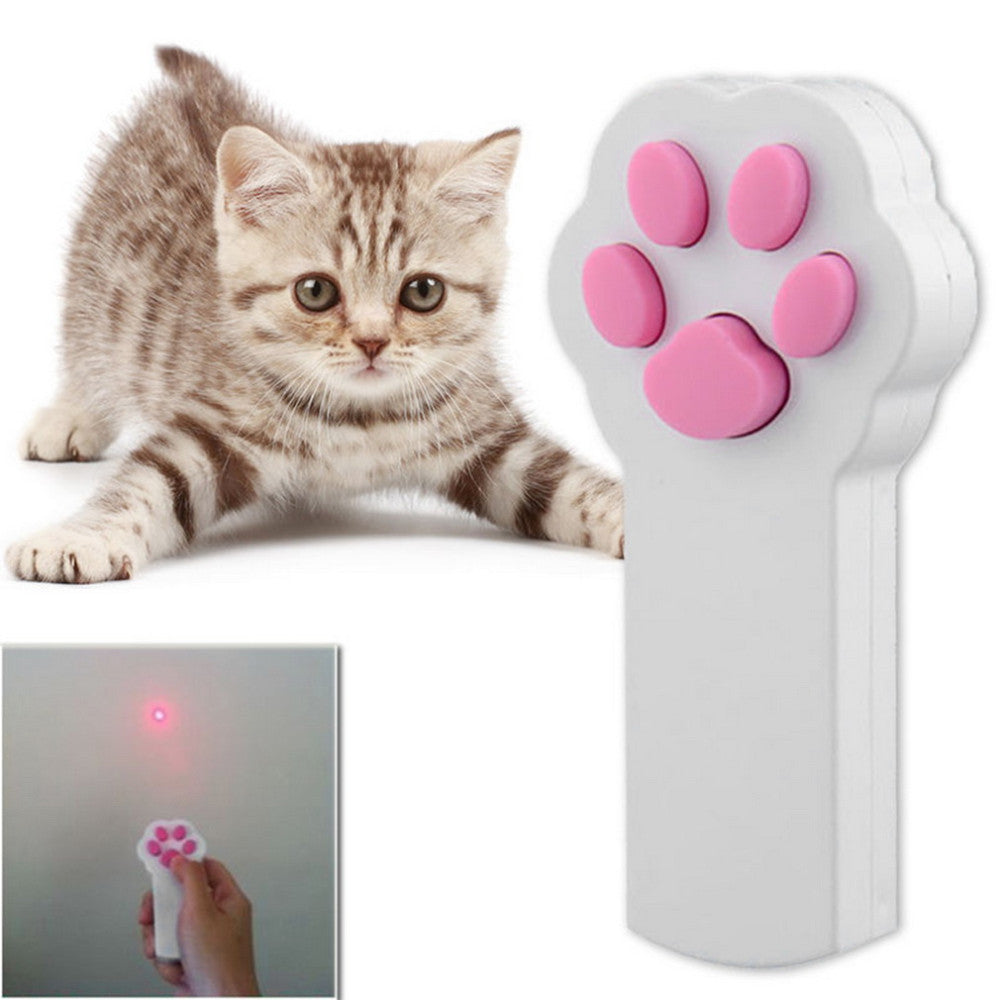 Fun, Interactive Cat Red Laser Pointer Toy