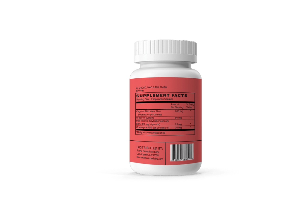 NOW Supplements, Red Yeast Rice with CoQ10 | Stone Natural Medicine