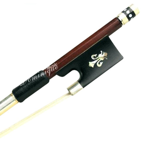 D Z Strad Model 300 Sizes 4/4-1/16  Pernambuco Violin Bow with Fleur de lis Frog