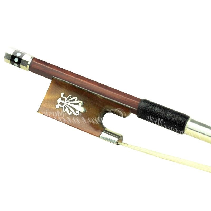 D Z Strad Violin Bow - Model 400 - Brazilwood Bow with Ox Horn Frog