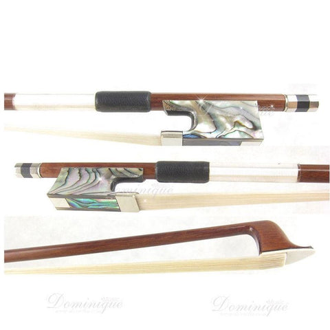 D Z Strad Violin Bow - Model 501 - Pernambuco Bow with Abalone Frog