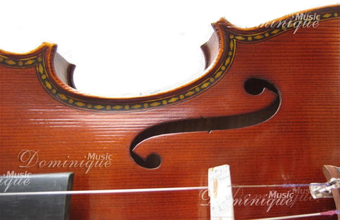 DZ Strad Violin – Model 601F – Double Purfling with Dot-and-Diamond Inlay