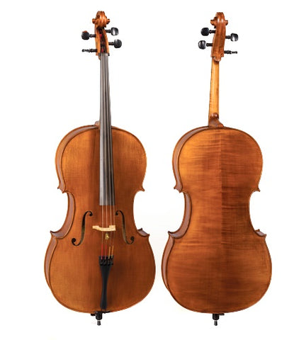 D Z Strad Cello Model 700 w/ Case & Bow (1/2-4/4)