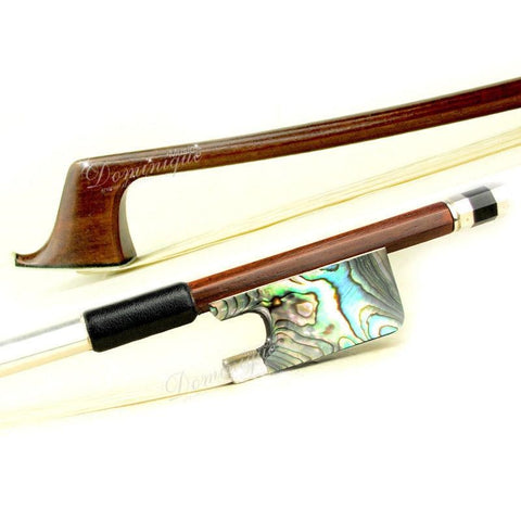 D Z Strad Cello Bow - Brazilwood Bow with Abalone Shell Frog