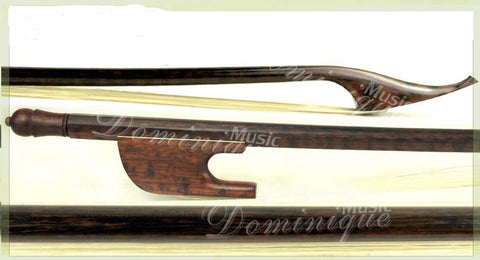 D Z Strad Old German Baroque Style Violin Bow Snakewood Full Size 4/4